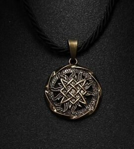 collier viking homme