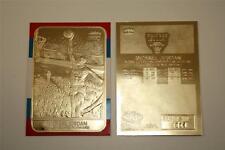 MICHAEL JORDAN 1986 Fleer ROOKIE 23KT Gold Card Sculptured - R/W/B Border NM-MT