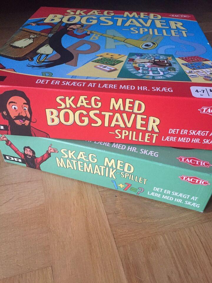 Andet legetøj, Skæg med matematik og skæg med bogstaver,