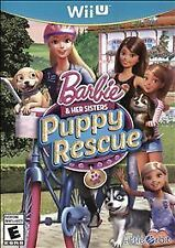 BARBIE AND HER SISTERS PUPPY RESCUE WII U! GROOM PETS LIKE SIMS, ANIMAL CARE DOG