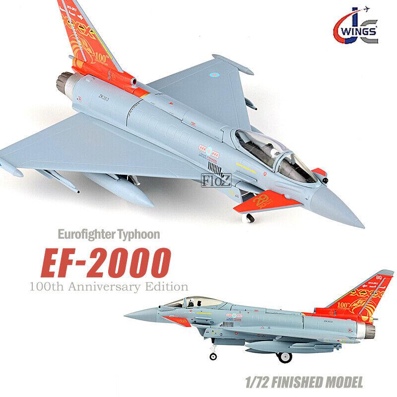 JC WINGS Eurofighter Typhoon EF-2000 100th Anniversary Edition 1 72 plane model