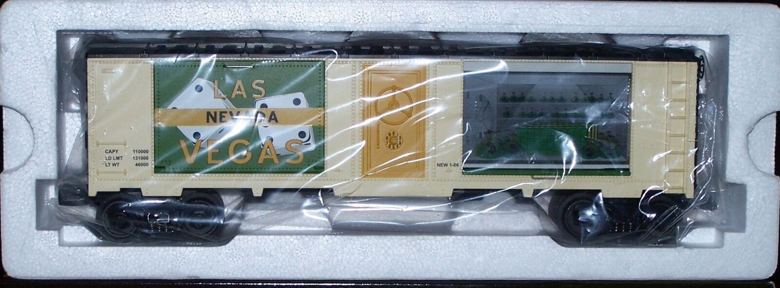 MTH Rail King Reno, Nevada 40  Window Box Car w Money 30-74400