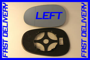 BMW 1 SERIES E82 COUPE 118i 2010 DOOR WING MIRROR GLASS BLUE HEAT RIGHT