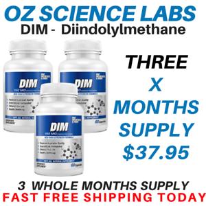 DIM-150mg-180-Capsules-Diindolylmethane-Estrogen-Hormones-Balance-Pills