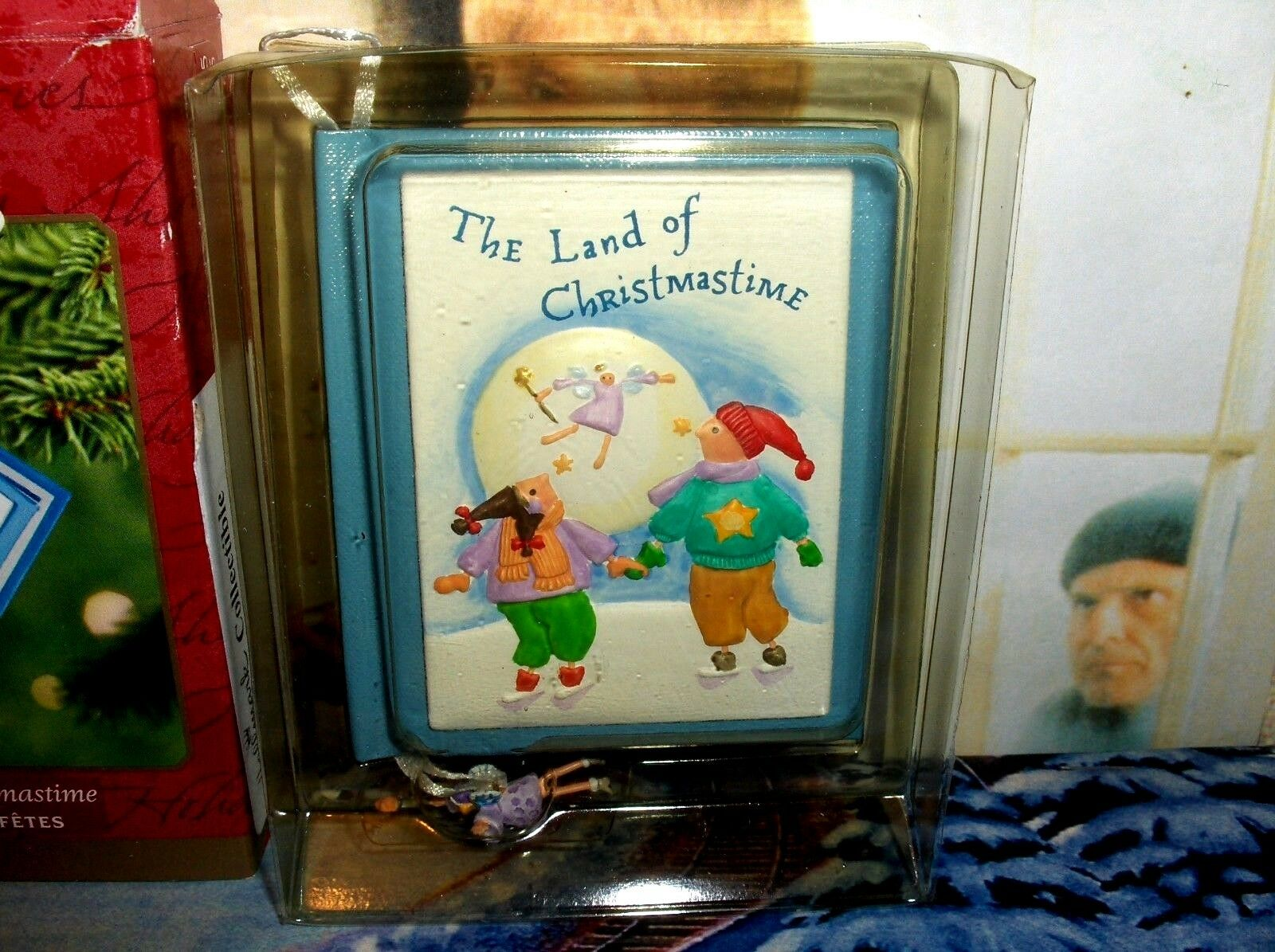 "Hallmark /""The Land of Christmastime /"" Ornament Dated 2001"