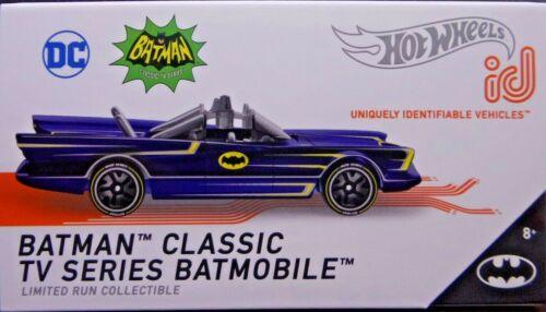 Hot wheels id Batman Classic TV Series Batmobile 1//4 azul series 2 HBF93-T911 DC