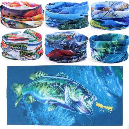 Maxcatch UV Fisch Stirnband Flugangelschal Halstuch