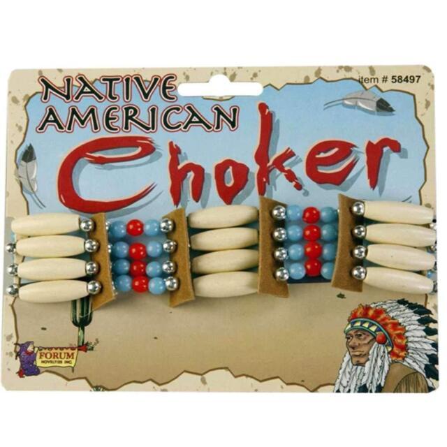 Forum Novelties Native American Beaded Choker Necklace | 58497