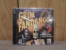 Grim Fandango Lucasarts PC Game Windows New Sealed CD Jewel Case