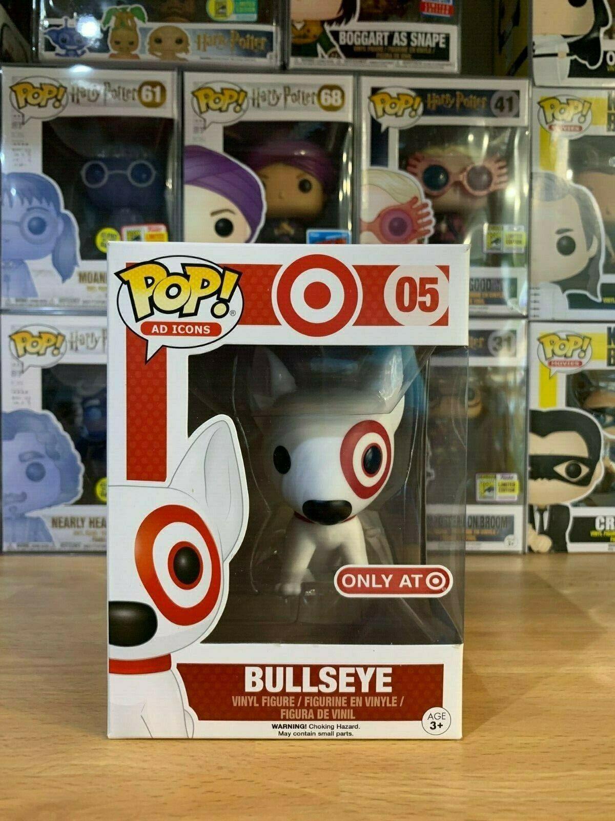 Funko Pop   05 Bullseye - rare - vaulted - condizioni perfette - ad icon