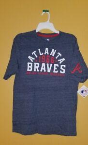 MLB-Genuine-Merchandise-Atlanta-Braves-Baseball-T-Shirt-Mens-Sizes-M-L-XL-NWT