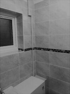 Exmoor Fog Gloss Marble Stone Effect Grey Ceramic Bathroom