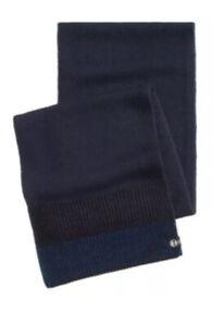 Timberland Men's Cozy Scarf navy blue Heat Retention