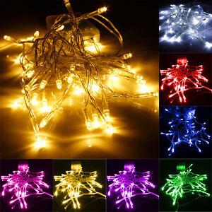 20/30/40/50/100 LED String Fairy Lights Battery Operated Xmas Party Room Decor eBay