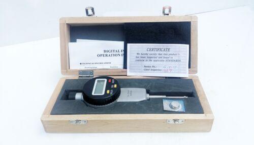 électronique numérique Indicateur Cadran 0-25mm//2.5cm gamme 0.01mm 12.7cm Res