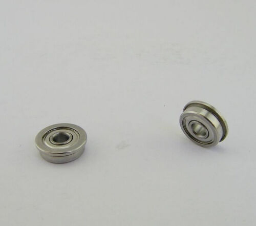3x7x3mm CAPT2011 PRECISION Ball Bearing Qty:4 Flanged F683ZZ Metal Shielded