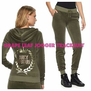 e47d3c246a29 Image is loading NWT-Juicy-Couture-Velour-Tracksuit-Women-Embellished-Jacket -