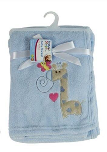 First Steps Coral Fleece Baby Blanket 6 Assorted Design 75 x 100 cm