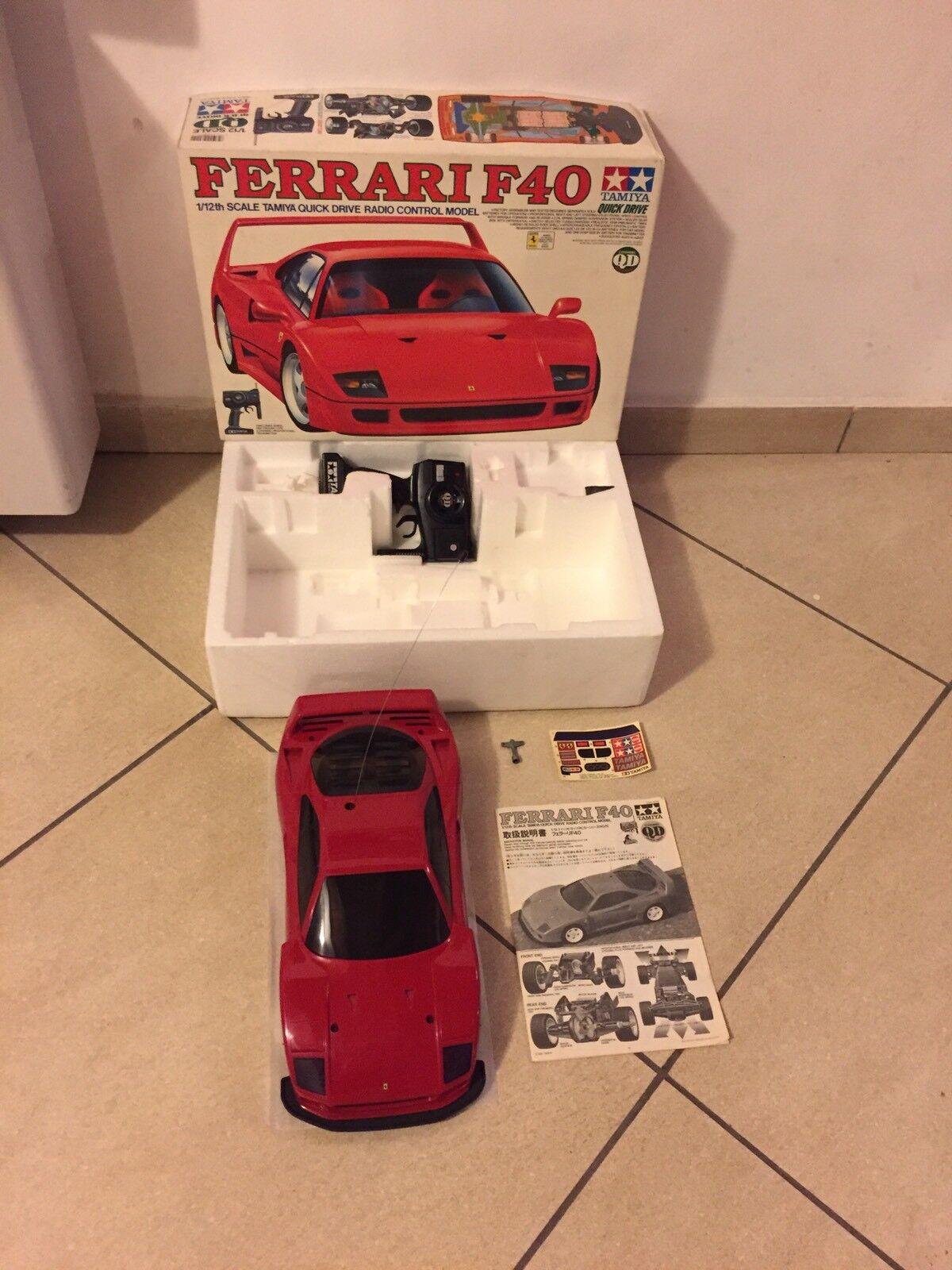 Ferrari Ferrari Ferrari F40 QD Tamiya Rc Car 1/12 Vintage No Nikko Taiyo 9d5247