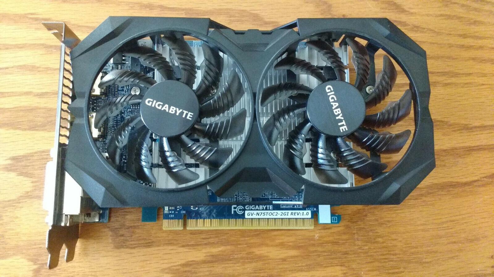 Gigabyte Geforce Gtx-750-Ti-2gb Windforce Graphics Card-GPU - Pre-owned 2