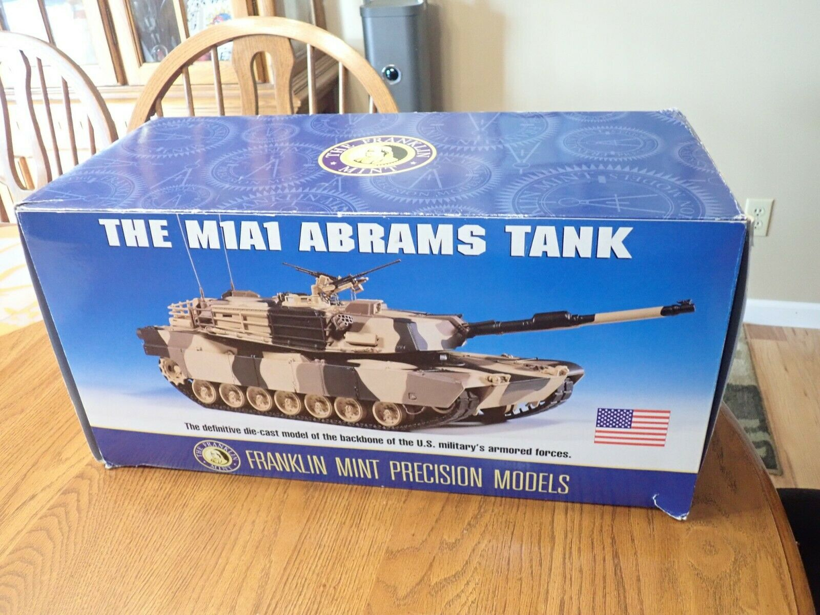 Franklin Comme neuf M1A1 Abrams Tank 1 24