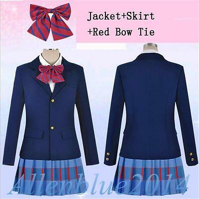 Love Live Kousaka Honoka Yazawa Niko Maki School Uniform Cosplay Costume Outfits