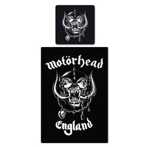 DéTerminé Motörhead Linge De Lit Angleterre Lemmy Rock N Roll Wow 100% Coton 135x200 Cm Neuf Top-afficher Le Titre D'origine