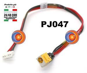 Connettore Alimentazione DC Power Jack PJ047 per notebook ACER Aspire 5335 5735 - Italia - Connettore Alimentazione DC Power Jack PJ047 per notebook ACER Aspire 5335 5735 - Italia