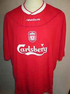 04c8174c5e2 Image is loading Liverpool-2002-2004-Home-Football-Shirt-Size-large-