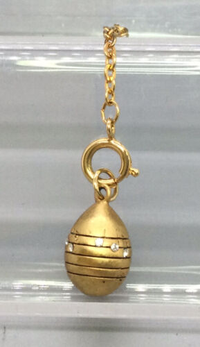 Joan Rivers Faberge Egg Pendant Charm - Music Note
