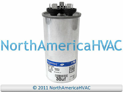 ICP Heil Tempstar Comfort Maker Dual Run Capacitor 30/3 370 1082631 Nac Akc Tempstar Condensing Unit Wiring Schematic on