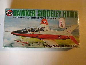 Airfix 03026 Hawker Siddeley Hawk 1:72 Neu Bauteile nicht versiegelt