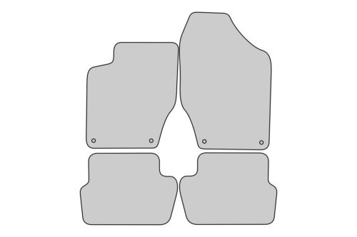 Exclusive design Tappetini PER PEUGEOT 308 1 CC Cabrio anno 2007-2013