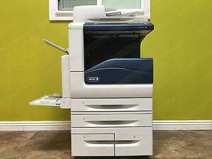Details about Xerox Copier WorkCentre 7845 Tabloid Color Printer Scanner  Duplex Network 45PPM