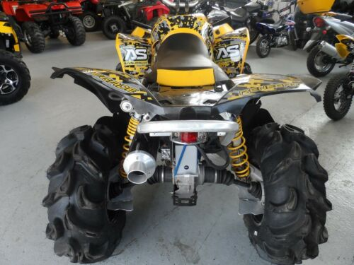 Can am RENEGADE 800 1000 graphics custom decal kit DIGICAMO Black Red Yellow
