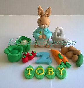 Peter Rabbit Cake Topper Ebay