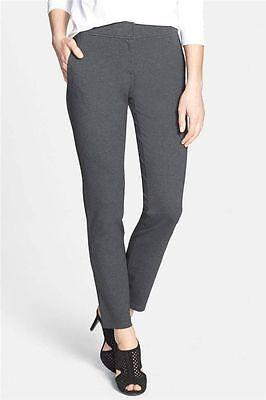 NWT Eileen Fisher Milano Viscose Ponte Knit Leggings Pants Charcoal sz XL