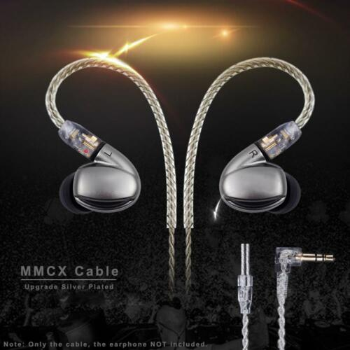 4Core Audio Earphone MMCX L Bended Cable for Shure SE535 SE846 UE900 DZ7 DZ9 DZX