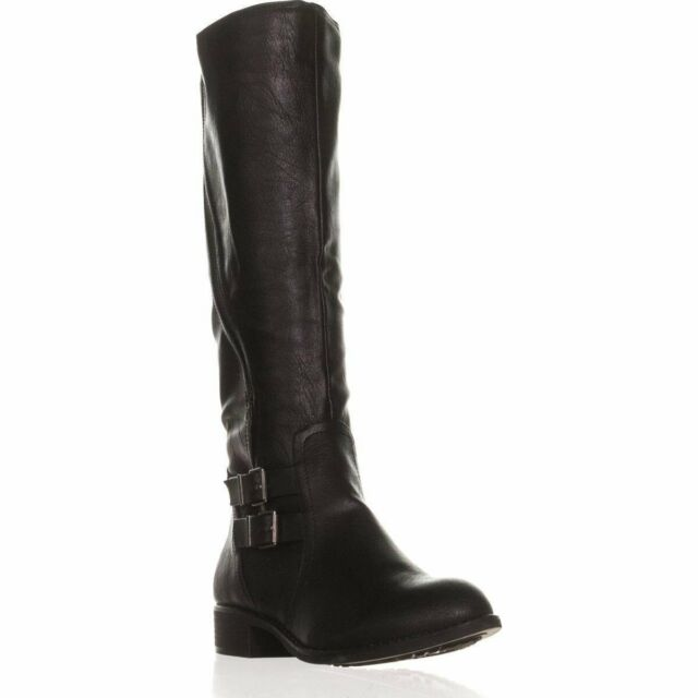 Style & Co. Womens Milah Almond Toe Knee High Riding Boots, Black, Size 5.0 iOjf
