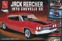 Amt Jack Reacher's 1970 Chevy Chevelle Ss 1/25 Plastic Model Car Kit 871