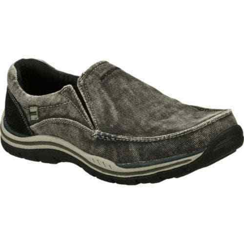 Skechers Men's Relaxed Fit Expected Avillo slip on casual comfort loafer canvas