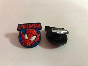 Spider-Man Head Figure Shoe-Doodle For holes Rubber Shoes Crocs Charm SPDR2012