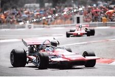 9x6 Photograph  Max Jean , F1 March 701   French GP Paul Ricard 1971