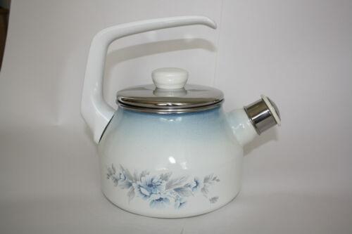Westfalia Emaille Wasserkessel Wasserkocher Flötenkessel Kessel - NEU - Vintage  d7BrC
