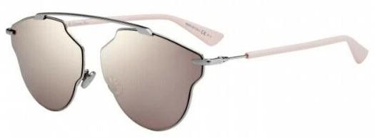 Christian Dior SoRealPop 03YZ/SQ Palladium Pink Mirrored Sunglasses
