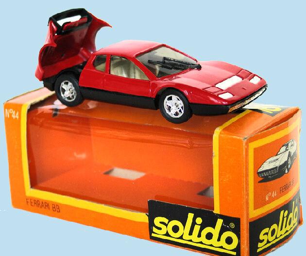 SOLIDO   Ferrrari 365 BB   Ref 44 1976     Livraison dans le Monde entier