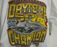 Joey Logano 22 57th Annual Daytona 500 Win Chase Authentic's T - Shirt - 3x