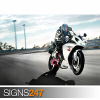 YAMAHA BIKE RIDE (1707) Photo Poster Print Art A0 A1 A2 A3 A4 - 2nd HALF PRICE!