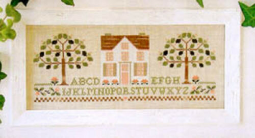 Little House Needlework Counted Cross Stitch Charts  Choose from Designs A