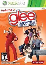 Karaoke Revolution Glee Vol. 3 GAME Microsoft Xbox 360 VOLUME